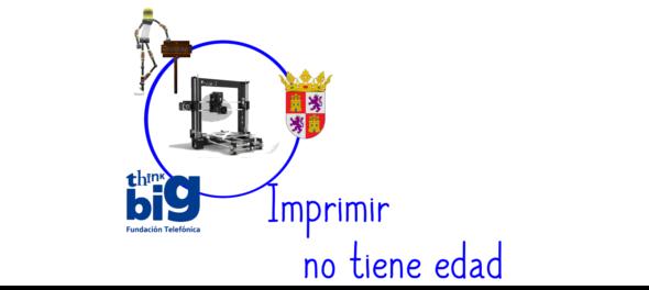 Imprimir en 3D no tiene edad