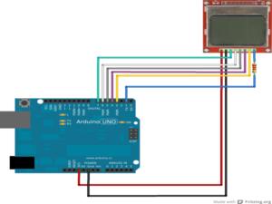 Conexion de la pantalla con Arduino