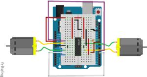 Control de motores con L293 y Arduino