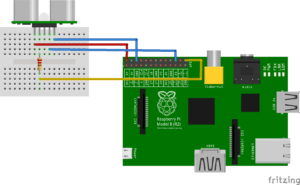 SR04 y Raspberry Pi