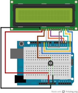 circuito LCD
