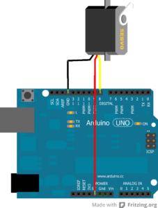 Conexion de Servo con Arduino