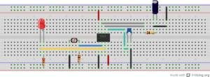 Interruptor crepuscular con 555