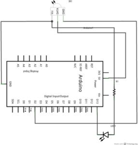 Esquema de Infrarrojos con Arduino