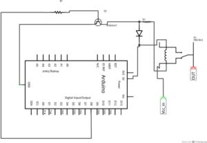 Esquematico Arduino Rele