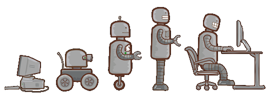 Evolucion robotica