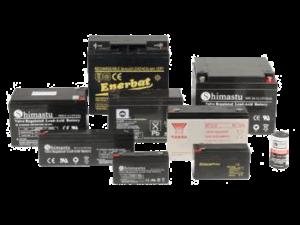Baterias de plomo