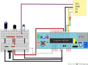 Experimento con Bluetooth y Pinguino