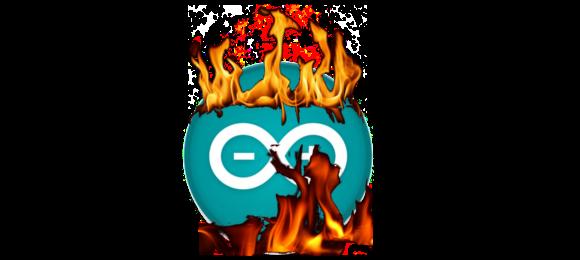Arduino en llamas