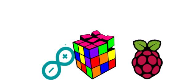 Raspberry y Arduino contra el cubo de Rubik